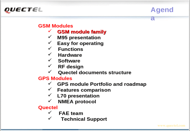 Training Quectel - [PPT Powerpoint]